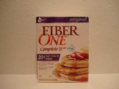 Fiber One Original Pancake Mix