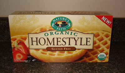 Nature's Path Waffles - Homestyle