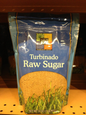 What is turbinado raw sugar