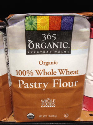 365 Organic 100% Whole Wheat Pastry Flour