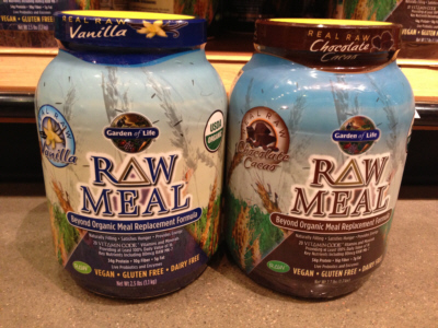 Garden Of Life Raw Organic Meal Replacement - Vanilla or Cocoa