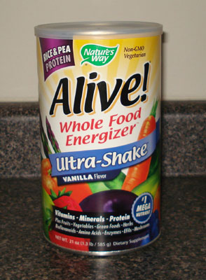 Alive Whole Food Energy and Protein Shake - Vanilla