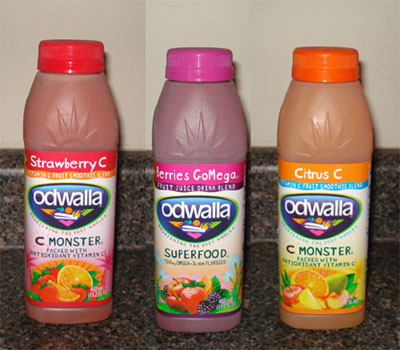 Odwalla Fruit Smoothies - Strawberry, Citrus, or Berries