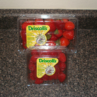 Driscoll's Fruit - Strawberries or Raspberries