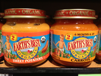 Earths Best Baby Food Sweet Potatoes or Carrots