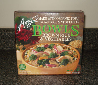 Amy's Bowls - Brown Rice and Vegetables