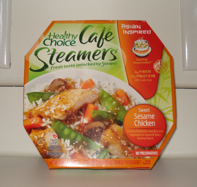 Healthy Choice Cafe Steamers - Sesame Chicken