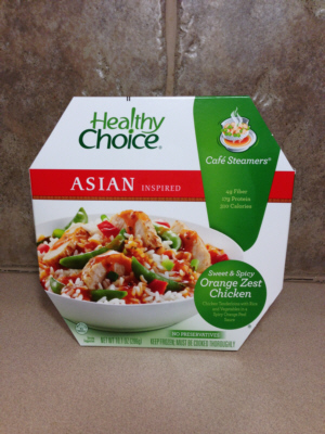 Healthy Choice  Frozen Asian Orange Zest Chicken Bowl