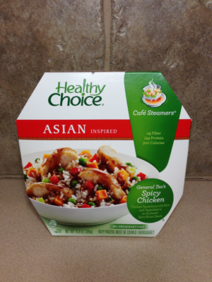 Healthy Choice Frozen Asian Spicy Chicken Bowl
