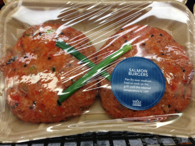 Whole Foods Salmon Burger Review