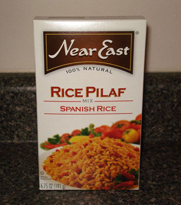 Near East Rice Pilaf - Spanish