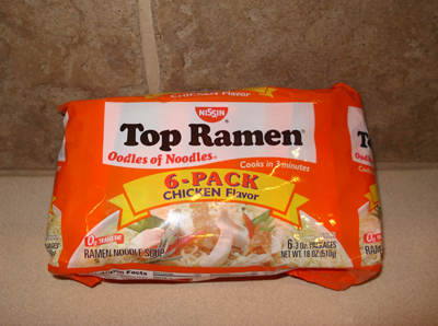 Top Ramen Noodles - Chicken