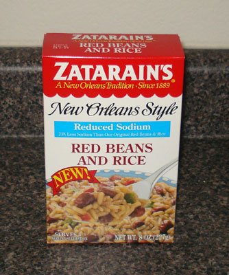 Zata Rain's New Orleans Style - Red Beans and Rice