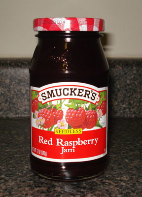 Image result for smuckers red raspberry jam