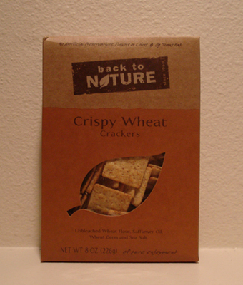 Back to Nature Crackers - Crispy Wheats