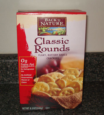Back to Nature Crackers - Classic Rounds