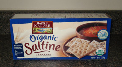Back to Nature Saltine Crackers