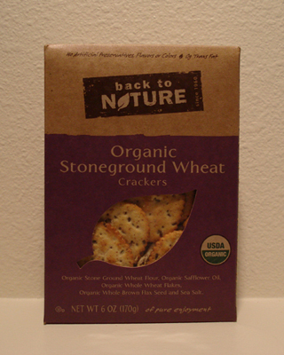 Back to Nature Crackers - Stoneground Wheats
