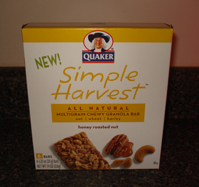 Quaker Simple Harvest Chewy Granola Bars - Honey Nut