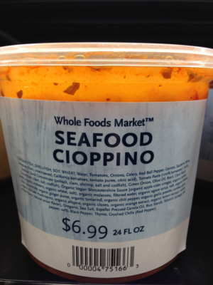 Whole Foods Market Seafood Cioppino