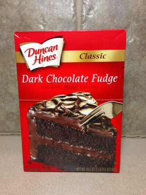 duncan hines chocolate fudge cake mix