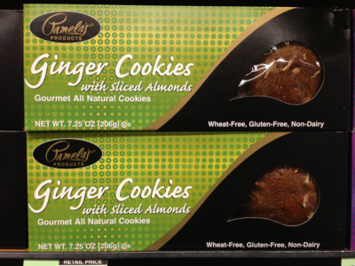Pamela's Natural Ginger Cookies