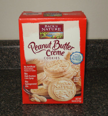 Back to Nature Cookies - Peanut Butter Creme